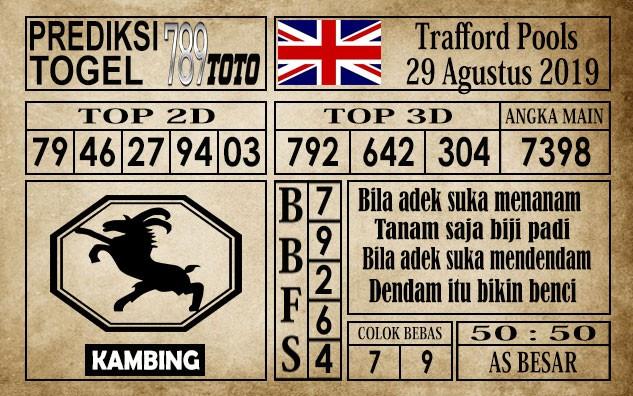 Prediksi Trafford Pools 29 Agustus 2019
