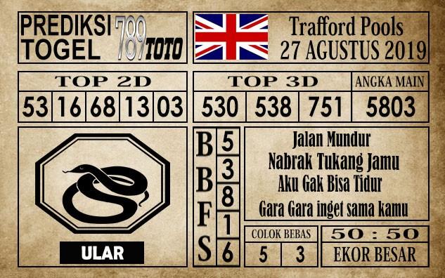 Prediksi Trafford Pools 27 Agustus 2019