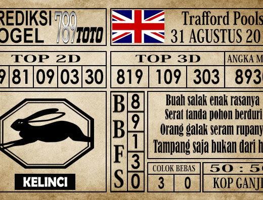 Prediksi Trafford Pools 31 Agustus 2019