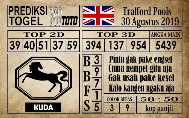 Prediksi Trafford Pools 30 Agustus 2019