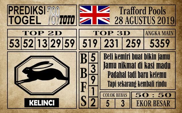 Prediksi Trafford Pools 28 Agustus 2019