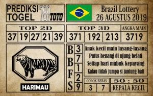 Prediksi Brazil Lottery 26 Agustus 2019