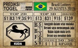 Prediksi Brazil Lottery 29 Agustus 2019