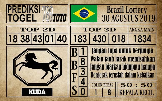 Prediksi Brazil Lottery 30 Agustus 2019