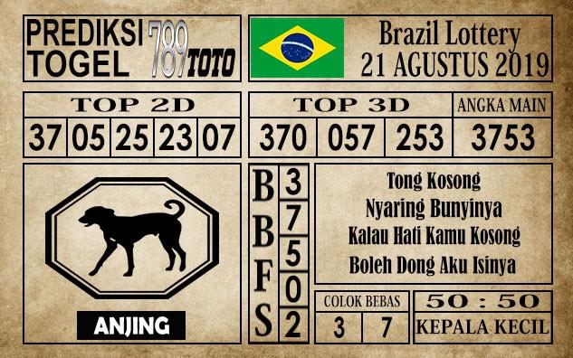 Prediksi Brazil Lottery 21 Agustus 2019