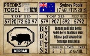 Prediksi Sydney Pools 17 Agustus 2019