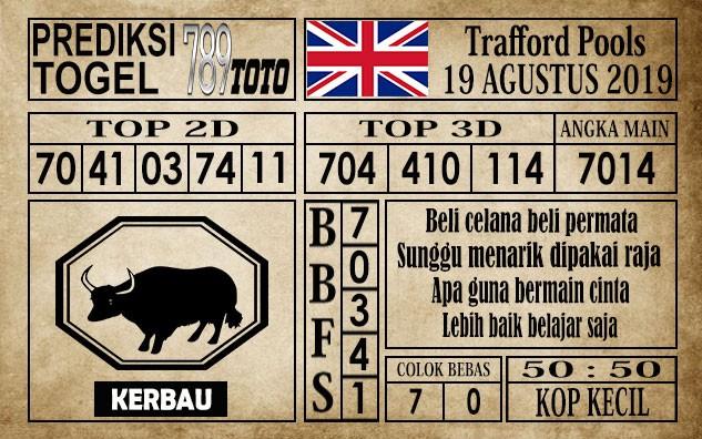 Prediksi Trafford Pools 19 Agustus 2019