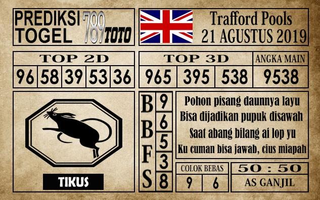 Prediksi Trafford Pools 21 Agustus 2019