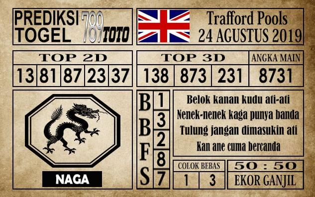 Prediksi Trafford Pools 24 Agustus 2019