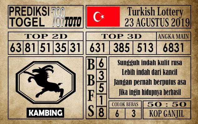 Prediksi Turkish Lottery 23 Agustus 2019