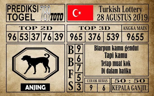 Prediksi Turkish Lottery 28 Agustus 2019