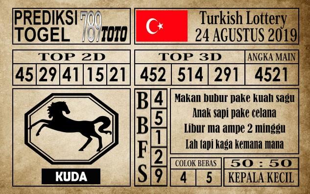 Prediksi Turkish Lottery 24 Agustus 2019