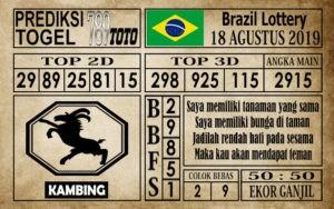 Prediksi Brazil Lottery 18 Agustus 2019