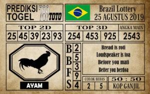Prediksi Brazil Lottery 25 Agustus 2019