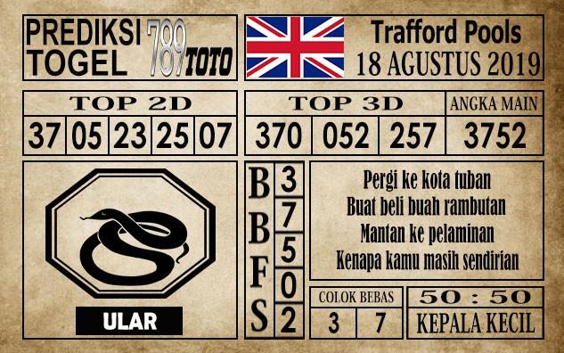 Prediksi Trafford Pools 18 Agustus 2019