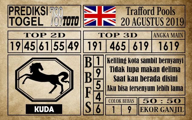 Prediksi Trafford Pools 20 Agustus 2019