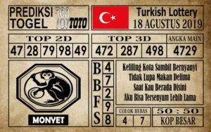 Prediksi Turkish Lottery 18 Agustus 2019