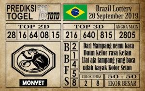 Prediksi Brazil Lottery 20 September 2019