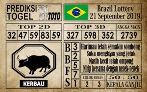 Prediksi Brazil Lottery 21 September 2019