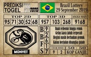 Prediksi Brazil Lottery 29 September 2019