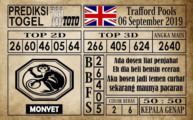 Prediksi Trafford Pools 6 September 2019