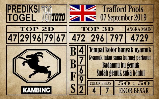 Prediksi Trafford Pools 7 September 2019