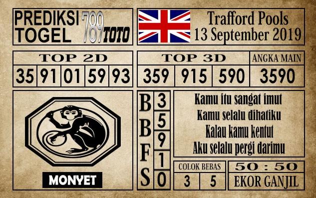 Prediksi Trafford Pools 13 September 2019