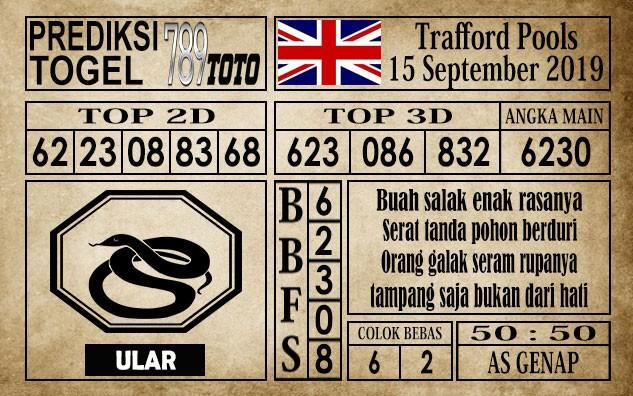 Prediksi Trafford Pools 15 September 2019