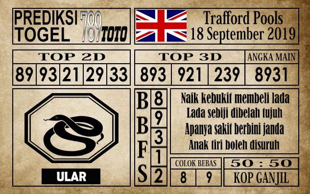 Prediksi Trafford Pools 18 September 2019