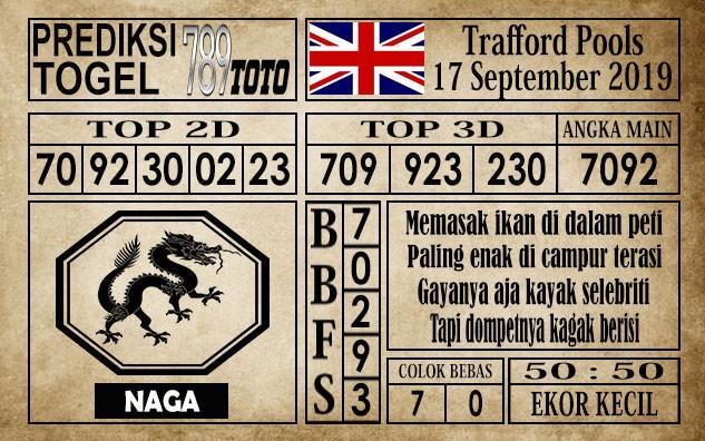 Prediksi Trafford Pools 17 September 2019