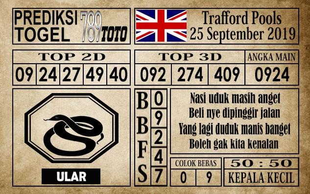 Prediksi Trafford Pools 25 September 2019