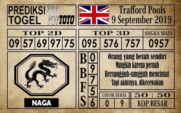 Prediksi Trafford Pools 09 September 2019