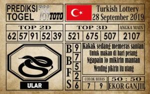 Prediksi Turkish Lottery 28 September 2019