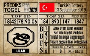 Prediksi Turkish Lottery 13 September 2019