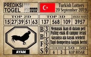 Prediksi Turkish Lottery 20 September 2019