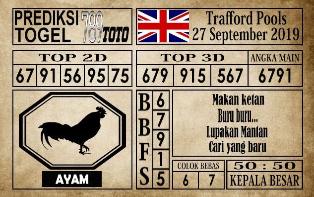 Prediksi Trafford Pools 27 September 2019