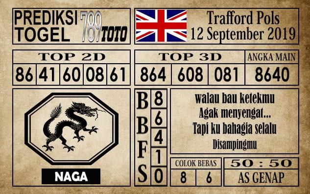 Prediksi Trafford Pools 12 September 2019