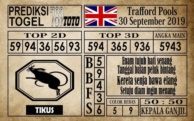 Prediksi Trafford Pools 30 September 2019