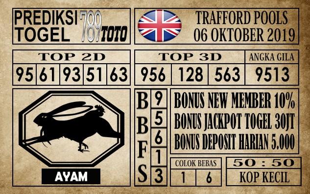Prediksi Trafford Pools 06 Oktober 2019