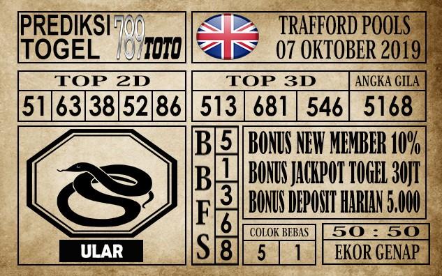 Prediksi Trafford Pools 07 Oktober 2019