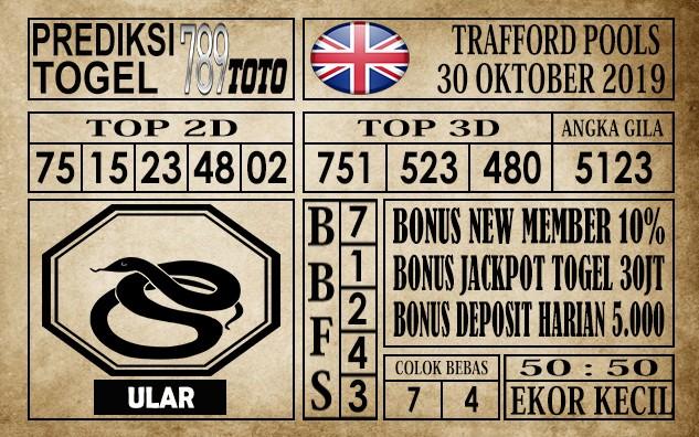 Prediksi Trafford Pools 30 Oktober 2019 789TOTO