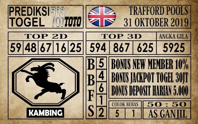 Prediksi Trafford Pools 31 Oktober 2019