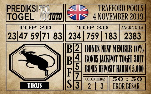 Prediksi Trafford Pools 4 November 2019