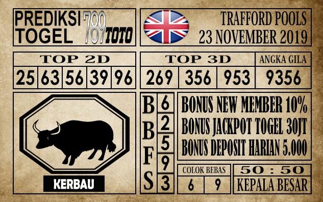 Prediksi Trafford Pools 23 November 2019