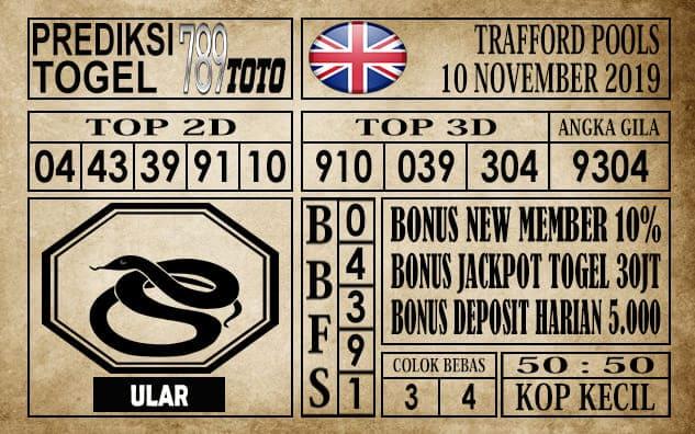 Prediksi Trafford Pools 10 November 2019