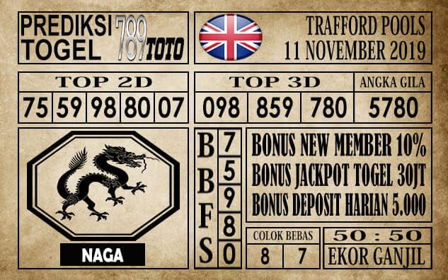 Prediksi Trafford Pools 11 November 2019
