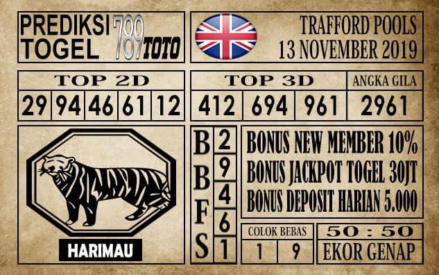 Prediksi Trafford Pools 13 November 2019