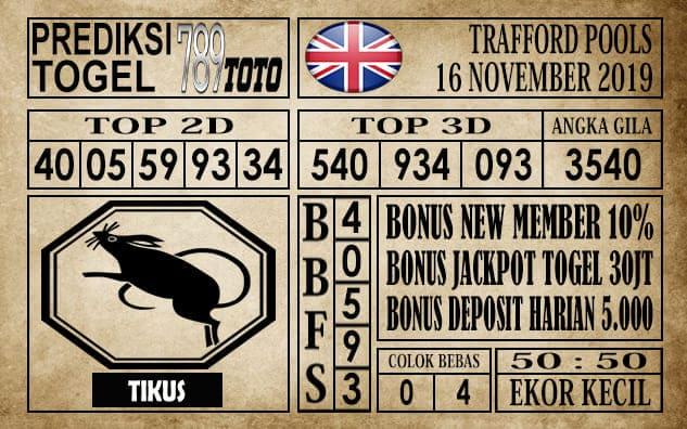 Prediksi Trafford Pools 16 November 2019