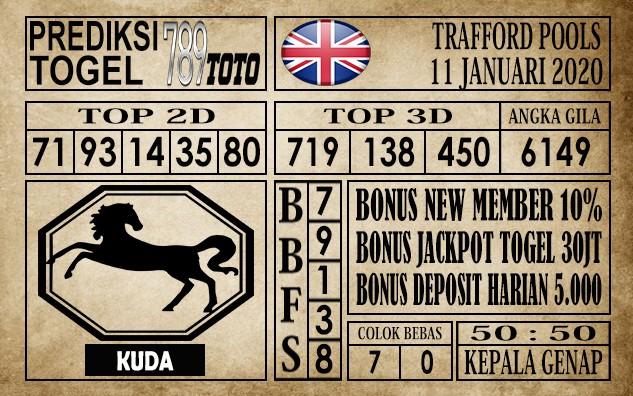 Prediksi Trafford Pools Hari ini 11 Jan 2020