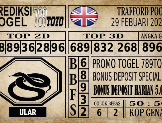 Prediksi Trafford Pools Hari Ini 29 Feb 2020